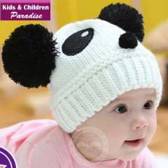 2013 New Year Fashion Children Warm Winter Lovely Cartoon Beanie Hat Baby Knitted Headwear Cap Free Shipping 43003
