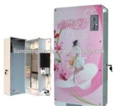 multifunctional 300 coins available 60pcs 12V 8pcs rechargable battery high volume Sanitary towel vending machine