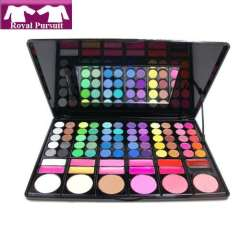 2013 New Arrival Fashion Women Makeup Set: EyeShadow\Lip Gloss\Concealer\Bluser with 78 colors Free Shipping 53001