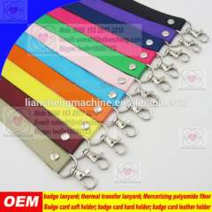 Free Sample Customized width material color logo craft parts durable bright color fashional competitive lanyards