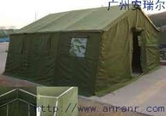 Supply of military tents, tent construction