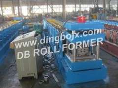 M shape purlin roll forming machine