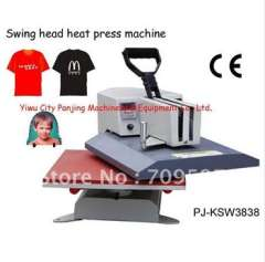 2014 time-limited seconds kill yes multicolor 2014new fashion flat swing heat press machine shaking head t-shirt high quality