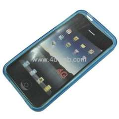 Frosted TPU case for iPhone 4