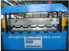 5.5KW roof sheet forming machine with automatic stacker