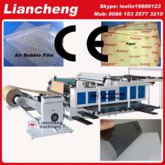 30 kinds Bubble film, EPE, paper, plastic etc hot sell in African, india etc PLC DC paper roll to sheet cutting machine