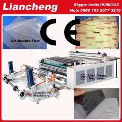 30 kinds Bubble film, EPE, paper, plastic etc hot sell in African, india etc PLC DC paper cutting machine a4