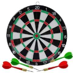 Small -sided flocking thicker heavier dart board