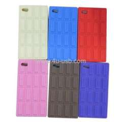 Chocolate Style Silicone Case for iPhone4