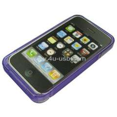 Crystal TPU case for iPhone 4 paypal acceptable Free shipping