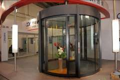 2 Wing Revolving Door