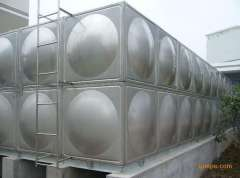 Modular stainless steel water tank, stainless steel water tank factory