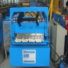 YX840 roofing metal sheets roll forming machine with 380V