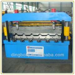 YX840 metal roofing sheet roll forming machine with automatic stacker