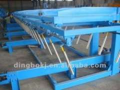 6m-12m automatic sheet stacker with PLC control