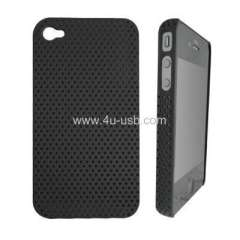 Mesh Hard Case for iphone 4