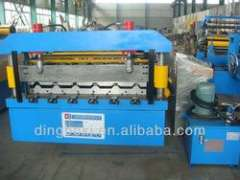 roof and wall sheet roll forming machine