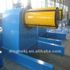 hydraulic steel coil decoiler with coil car