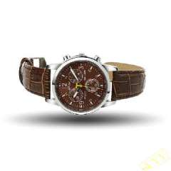 Bowl smooth surface Watch | Brown