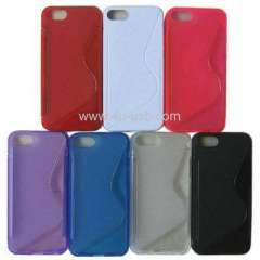 S Line TPU Shell for iPhone 5 case for iphone 5