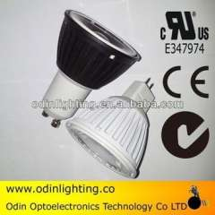 5w dimmable cob gu10 commercial lighting halogen gu10