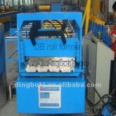aluminum roof panel roll forming machine