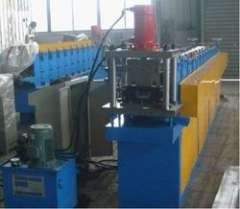 Top hat profile roll forming machine