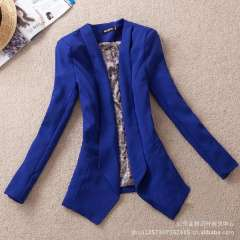 2013 spring new Korean Women Long Belt commuter Slim small suit small suit jacket cardigan