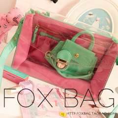 Women's handbag bags 2013 bag fashion macaron transparent bag casual messenger bag