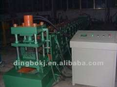 M shaped automatic roll forming machine