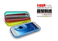Samsung Galaxy SIII transparent protective shell