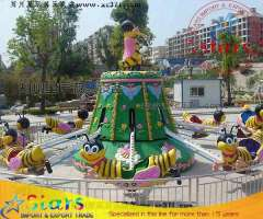 Factory Lovely Bees Outdoor Amusement Park Rotary Rides