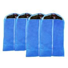 Non-woven thick dust cover | clothing Dust | suit Dust | Dust pouch | transparent visual | Blue