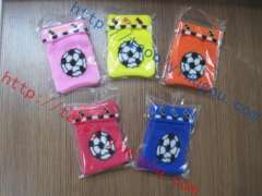 football football pattern bunk turned mouth multicolor knitting phone sets