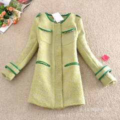 Air quality on high-end women woolen overcoats 2013 Winter Women's new coat jacket and long sections of it