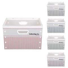 Times yield DIY storage box without cover - Stripe Series (SD3322-A3) color random