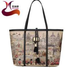 Rose poem meaning new fashion women's 2013 summer simple casual mobile shopping bag big bag factory wholesale