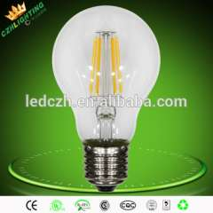 Hot selling glass cover 4w led light bulb with 4pcs filament