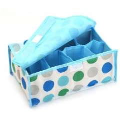 8 lattice soft cover underwear box circle | Random Color