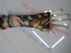 Fresh style fashion rose flower pattern summer sun tattoo sleeves