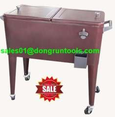 garden detachable portable cooler cart for barbecue with table (HX1104N)