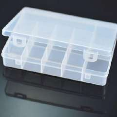 The import more than 15 grid transparent storage box ( 422604 )