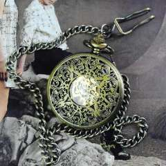 Floral Hollow | Fashion Retro mechanical pocket watch | antique gift watches for men and women