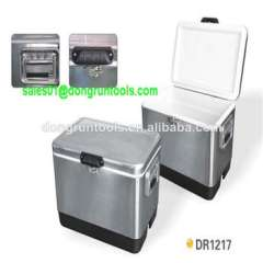 Patio portable stainless steel cooler box (HX1104Q)