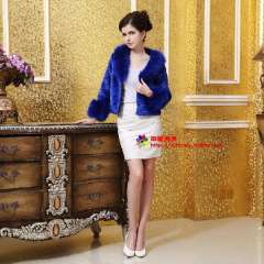 13 faux fur coat female short design turn-down fur collar fur collar fur coat