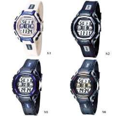 St. hundred cattle | Fashion hit color LED Diving Sports Watch | Genuine