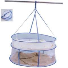 High quality enclosed double- drying clothes basket