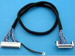 LVDS Wire Harness Cable Assembly Alternative JST FIX PHD Housing