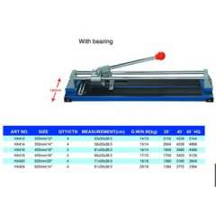 tile cutter with bearing, durable tile cutter, handy tile cutter