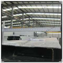 Supply Q235 galvanized c purlins for roof steel